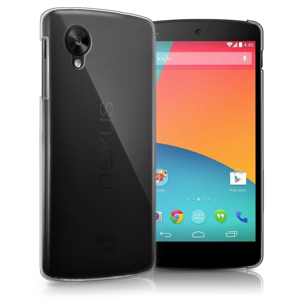 Nexus 5 Ultra Thin Crystal Clear Hard Case