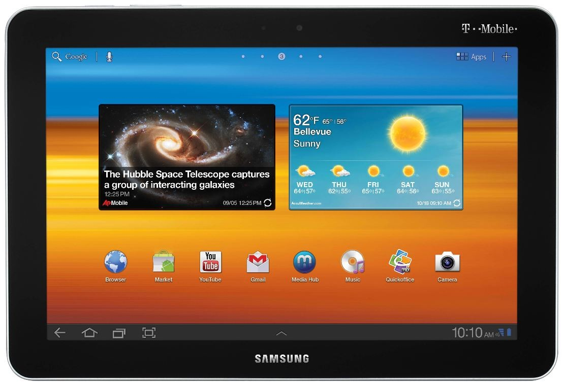 Samsung GT-P7500 Image